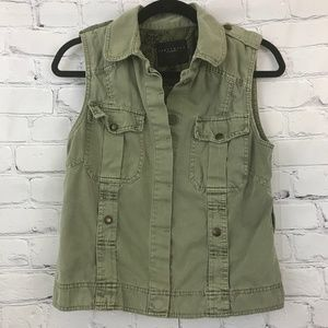 Sanctuary Army Green Utility Vest